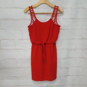 City Studio Red Dress Small
